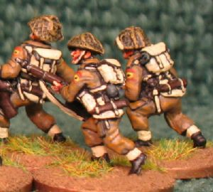 20mm, WW2 British Infantry BLA2 AB 10 figures